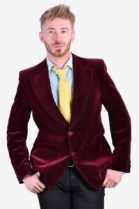 Vintage 1970's St Michael velvet jacket