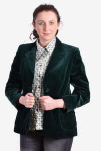 Women's vintage St Michael velvet jacket