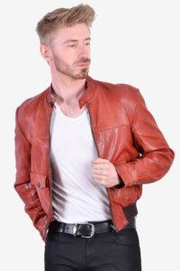 Vintage Harry Fenton leather bomber jacket