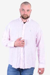 Vintage Ralph Lauren pink shirt