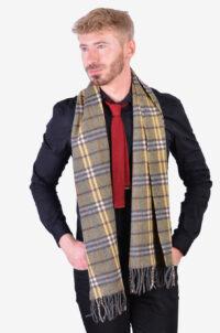 Vintage Burberry cashmere scarf