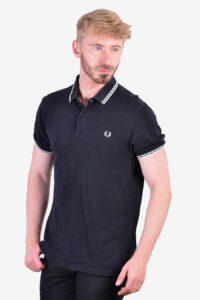 Vintage Fred Perry black polo shirt