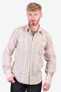 Vintage plaid western shirt