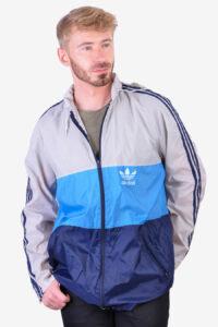 Vintage retro Adidas windcheater jacket