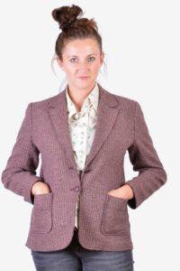 Women's vintage tweed jacket