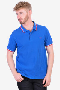 Vintage Fred Perry blue polo shirt