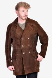 Vintage 1960's suede coat