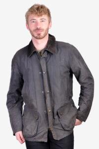 Vintage Barbour Ashby wax jacket