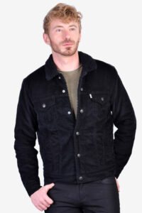 Vintage Levi's black corduroy jacket
