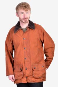 Vintage Barbour Beaufort A831 wax jacket