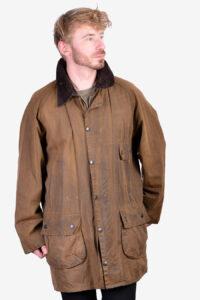 Vintage Barbour brown wax jacket
