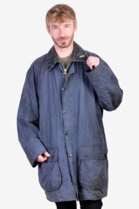 Vintage Barbour Border A205 wax jacket