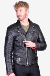 Vintage 1970's leather perfecto biker jacket