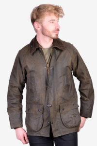 Vintage Barbour Bedale wax jacket