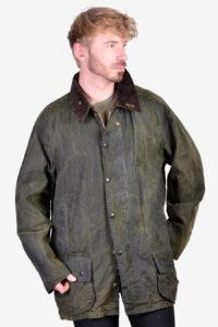 Vintage Barbour Beaufort A150 wax jacket