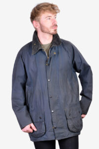 Vintage Barbour Beaufort A155 wax jacket
