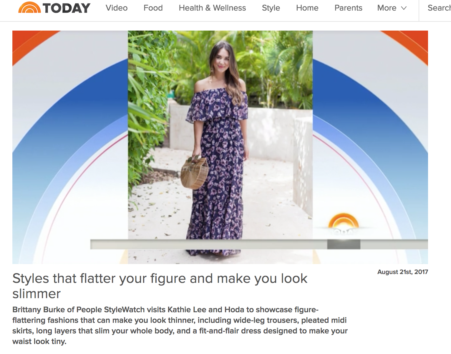 style tips from the today show
