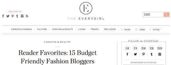 Budget-friendly fashion bloggers.