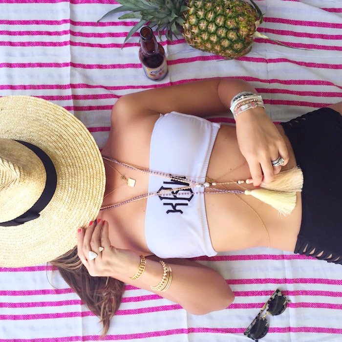marley lilly monogrammed swimsuit