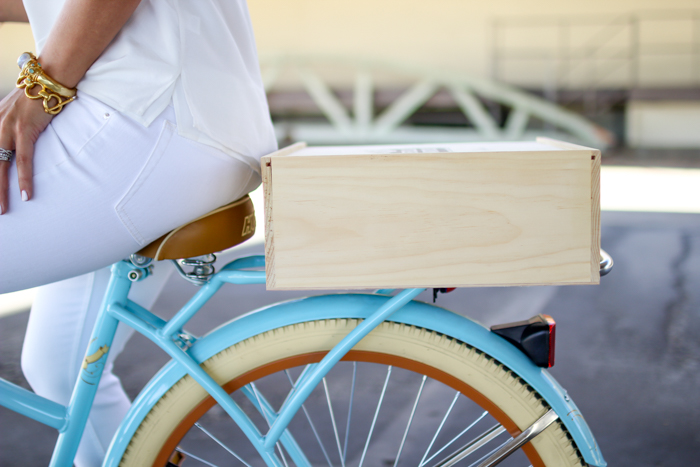 adding your own bike crate