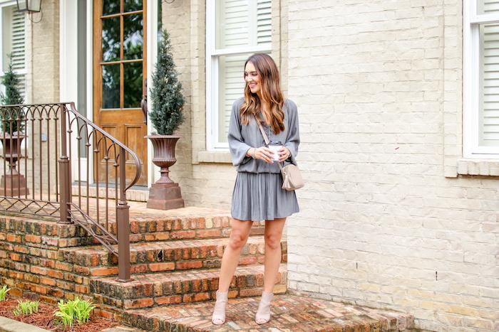 gray ramy brooke dress