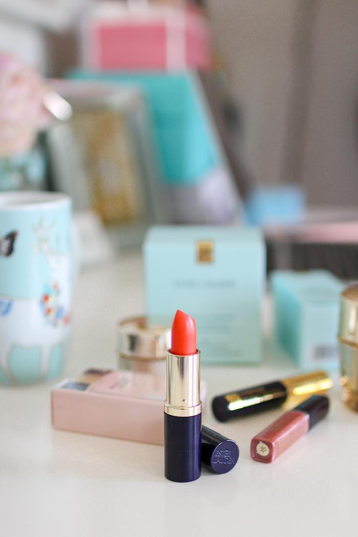 estee lauder orange lipstick