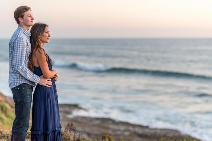 beach couples shoot