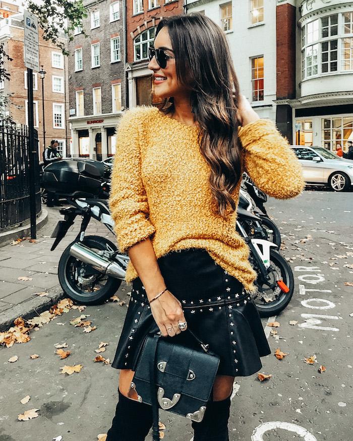 bp yellow sweater