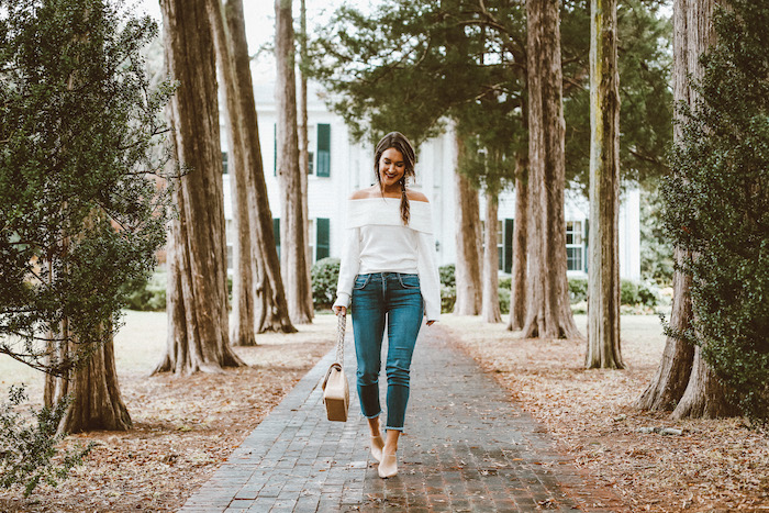 styling cropped jeans