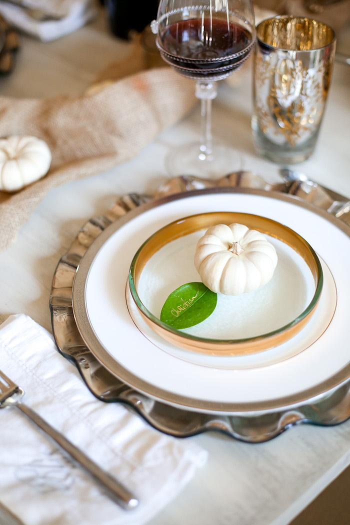 holiday tablescape idea
