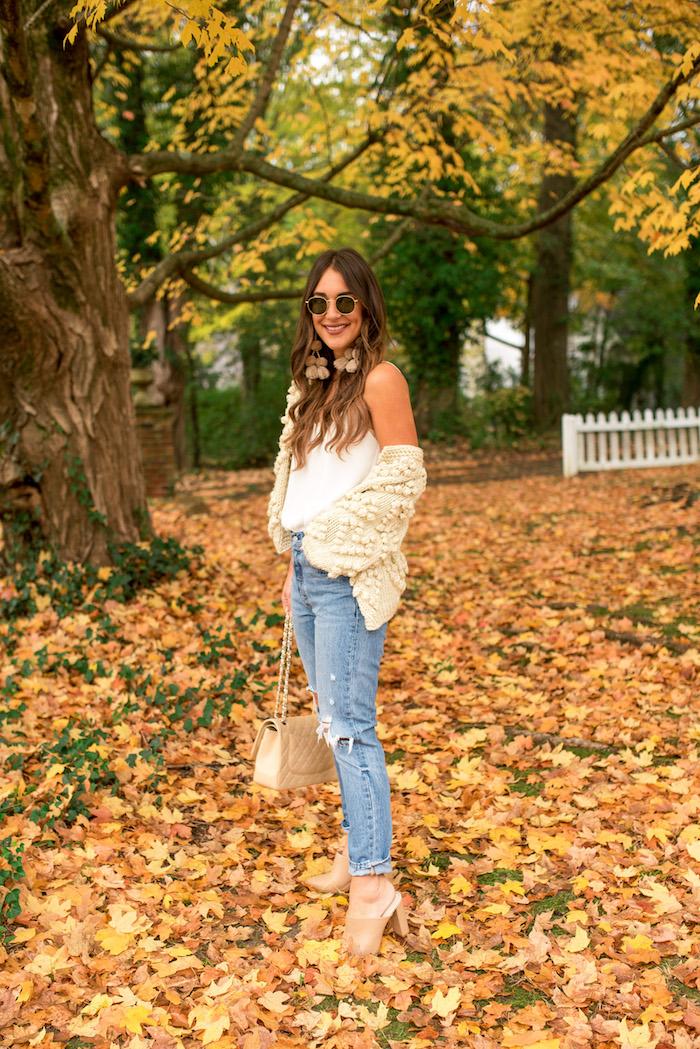fall chunky sweater