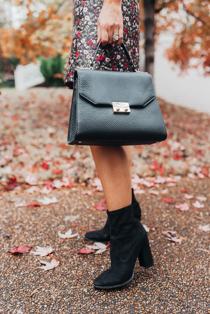 best block heeled booties