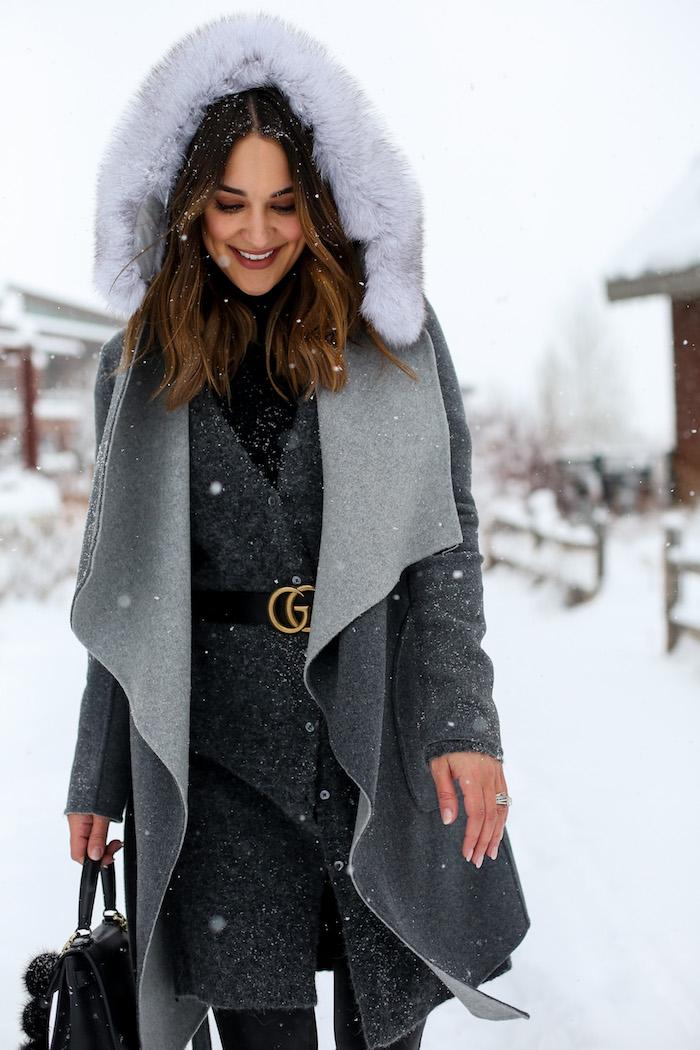 gray soia and kyo coat
