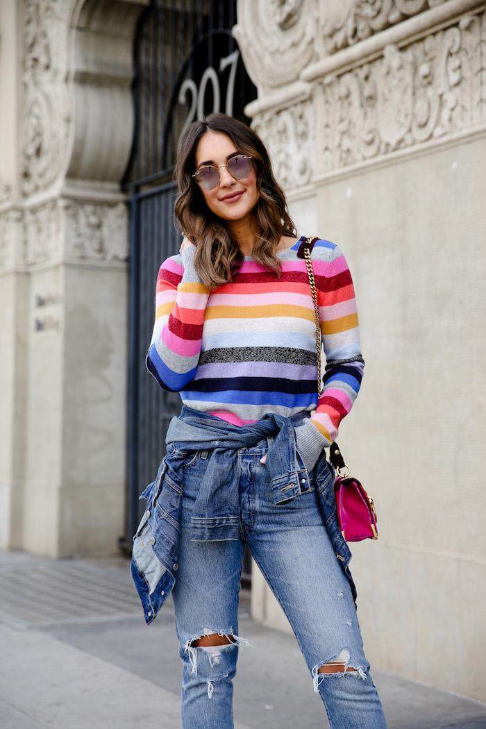 gap crazy striped sweater