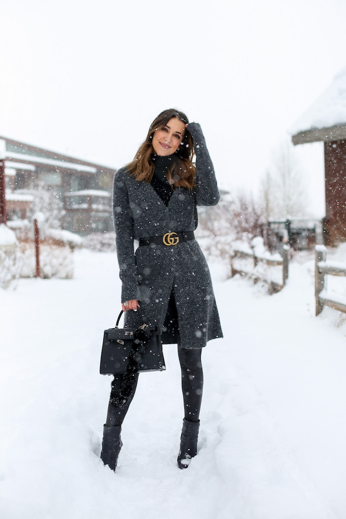 dressing up in the snow