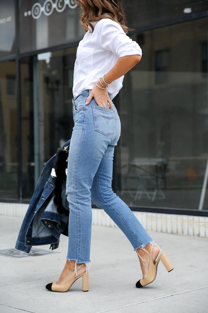levis 501 skinny jean post modern blues