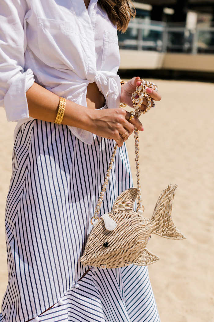 summer fish purse