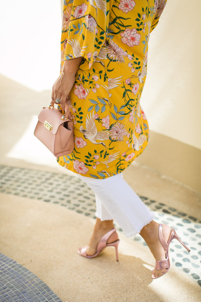 pink slingback heel