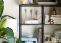 arranging book shelves