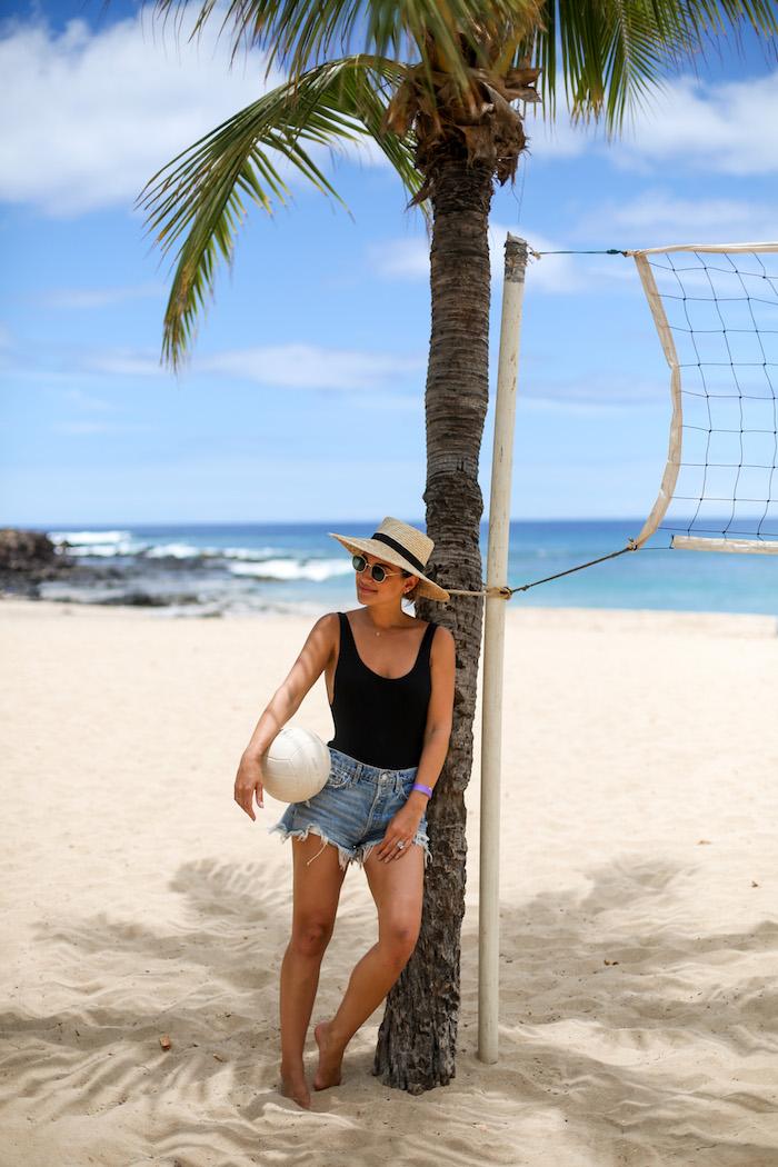 hawaii beach volleyball