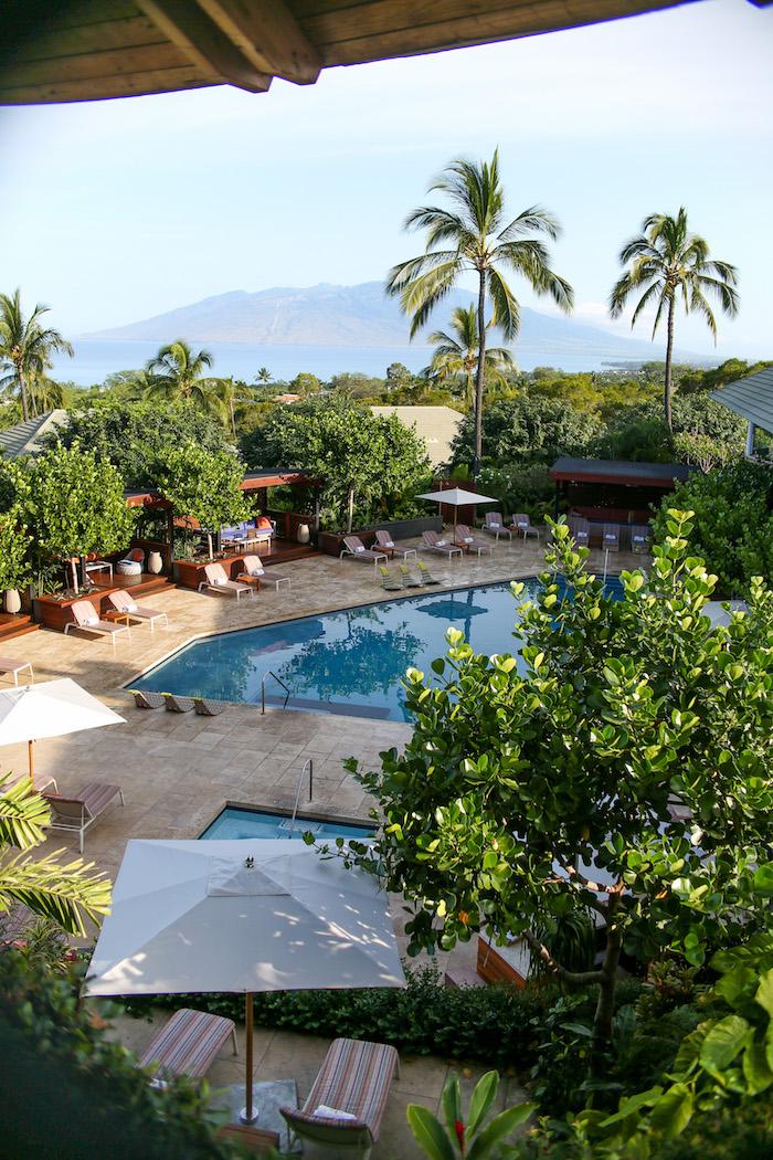 pool at hotel wailea