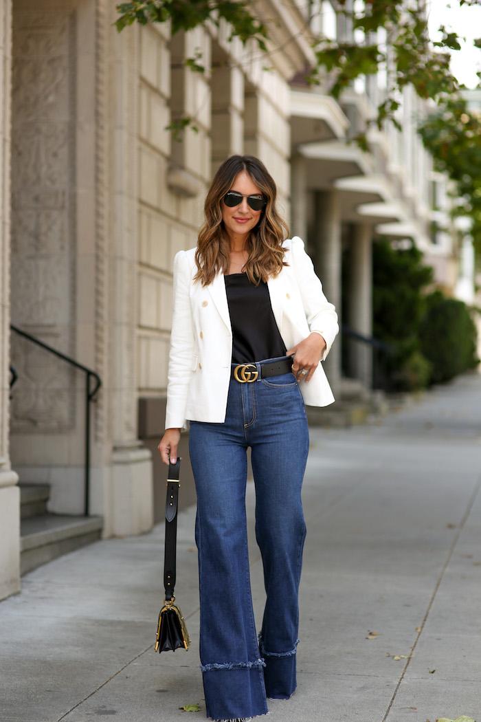 AO LA high waist flare jeans