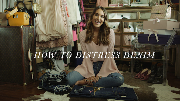 how to hem your own jeans