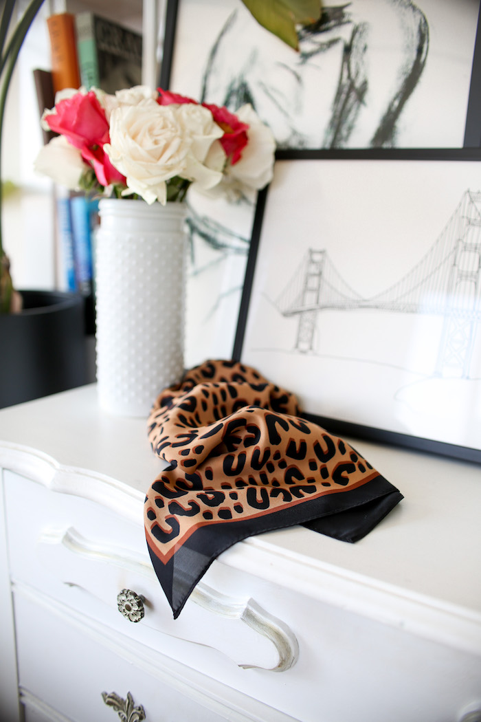 storets leopard scarf