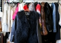 once was fur vest