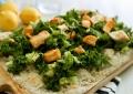 salad pizza recipe