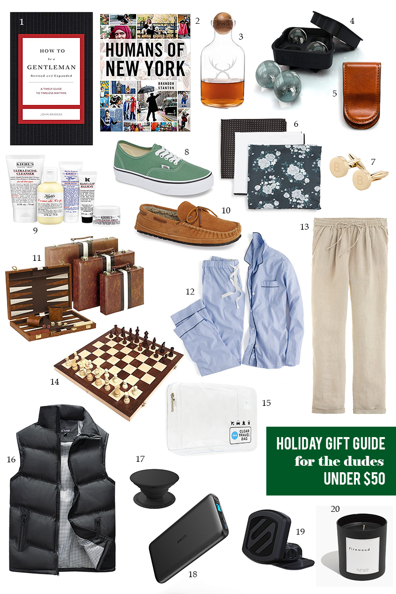 37b90074d940 Gift Guide Under  50 for Him + Her