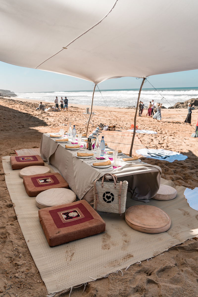 oualidia morocco picnic