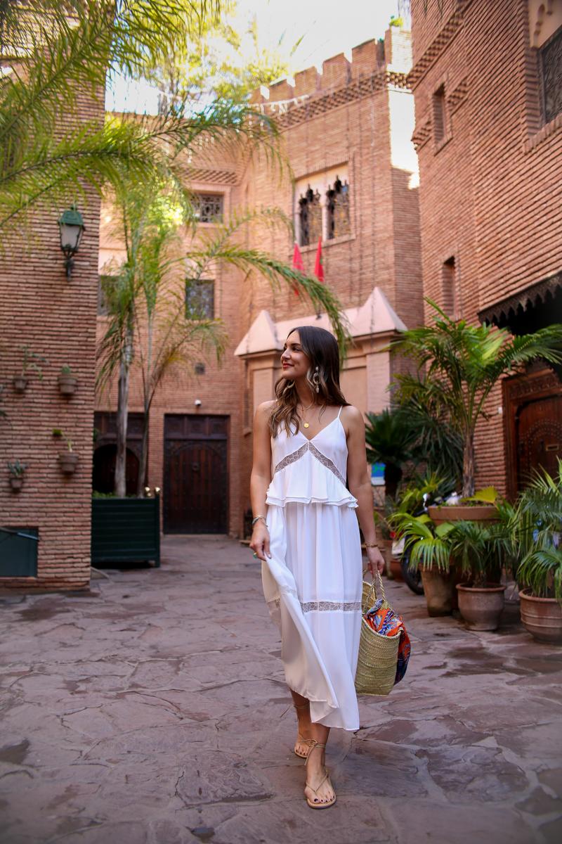 nastygal white midi dress