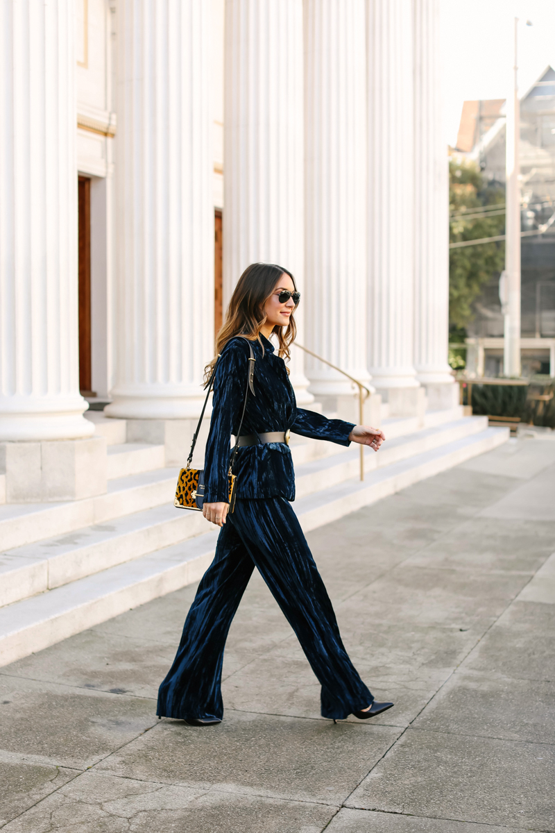 how to style a pant suit